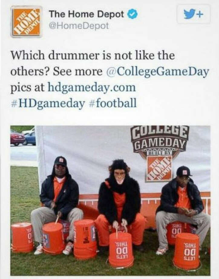 We don't really need to explain why this tweet from Home Depot was considered offensive. For their part in posting a racist tweet, Home Depot fired the social media agency responsible and apologized.