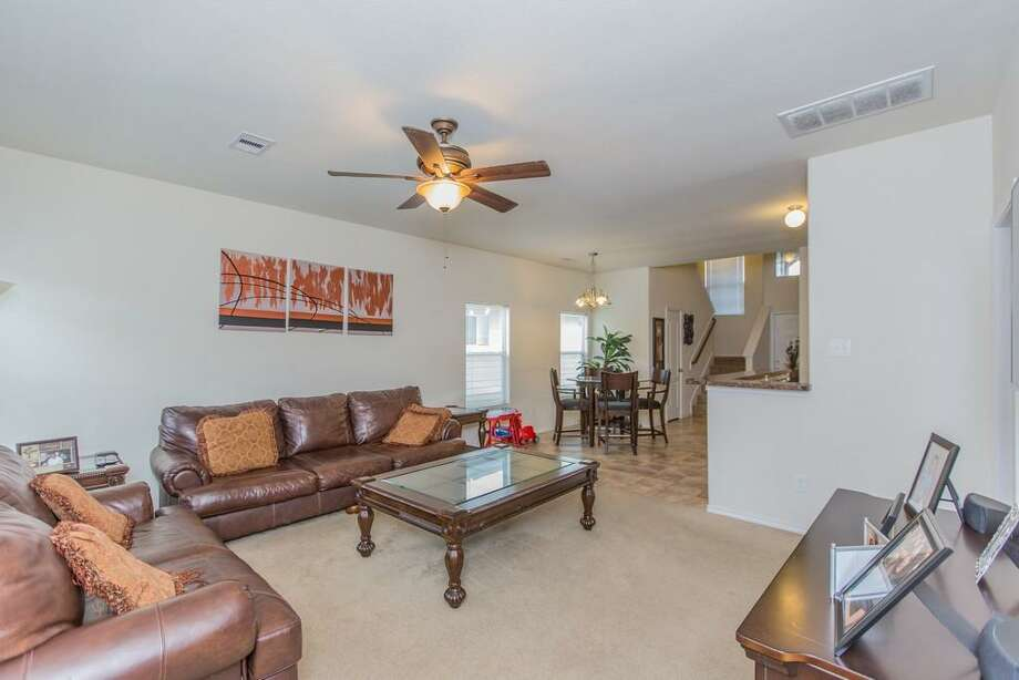 14419 Merganser: This 2008 home has 4 bedrooms, 2.5 bathrooms, 1,940 square feet, and is located in Southeast Houston. Listed for $150,000. Photo: Houston Association Of Realtors