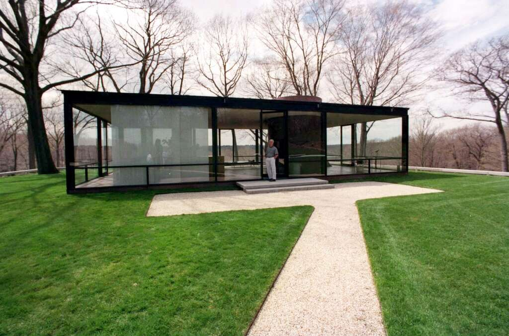 Glass House selfguided tours New Canaan News