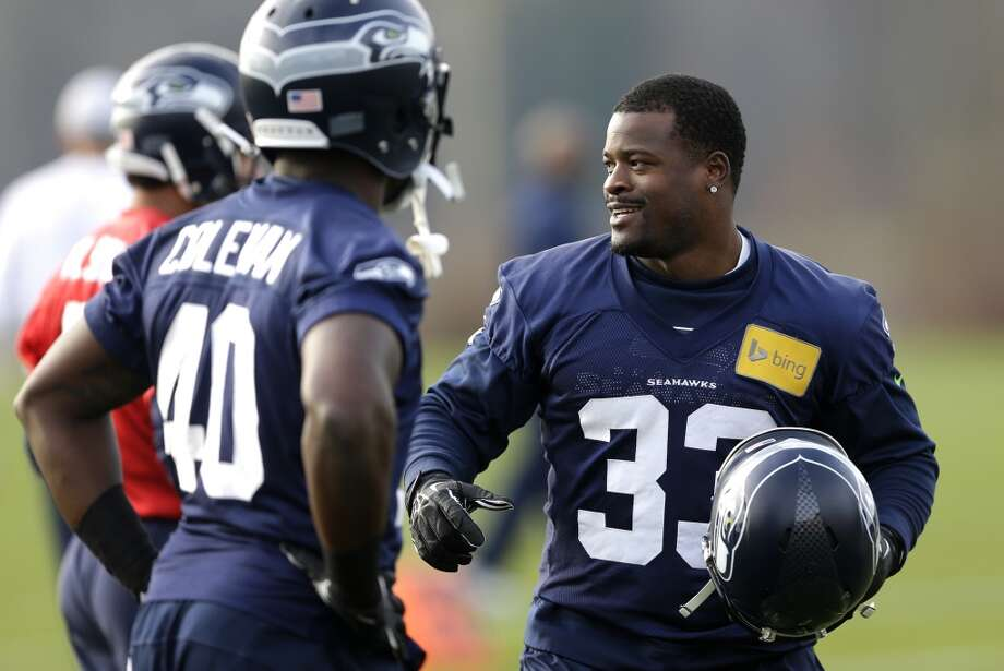 Christine Michael (33)  Seahawks running back  The Beaumont product rushed for 2,791 yards and 34 touchdowns during his four years at Texas A&M (2009-2012). Photo: Ted S. Warren, Associated Press