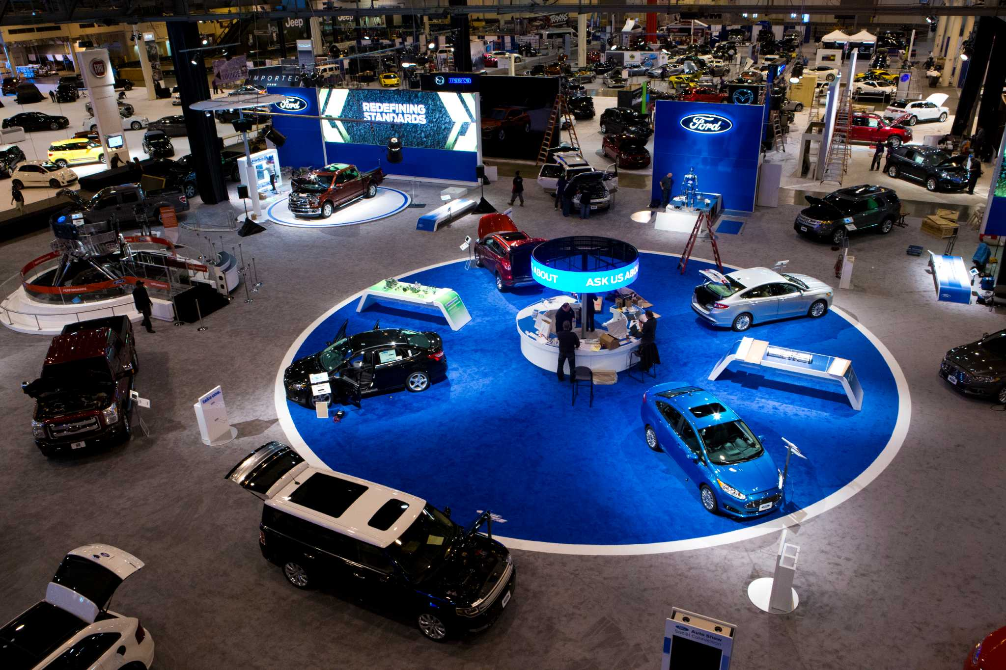 Auto Show Gains New Energy HoustonChroniclecom - Car show houston