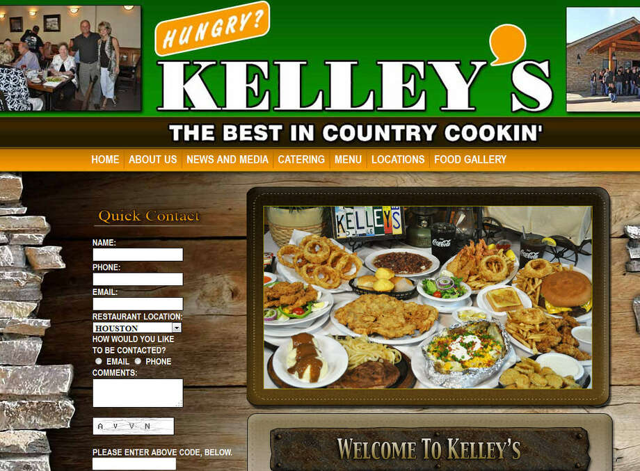 Kelley's Country Cookin'Various locationsWebsiteInformation current as of June 10, 2014.