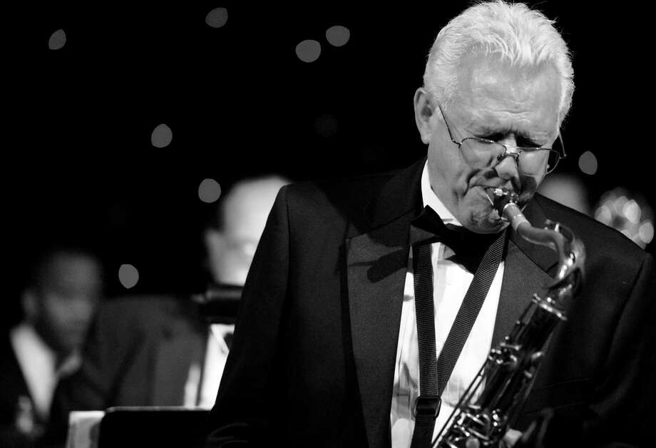 Sax player Jim Waller is the director of the University of the Incarnate Word Cardinal Jazz Band. Photo: Courtesy Jim Waller / San Antonio Express-News