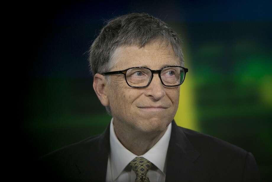 Bill Gates Photo: Scott Eells, Bloomberg