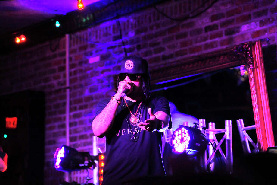 Houston rapper Lil Flip performed at Tequila Rok on Crockett Street Saturday night. Michael Rivera/@michaelrivera88