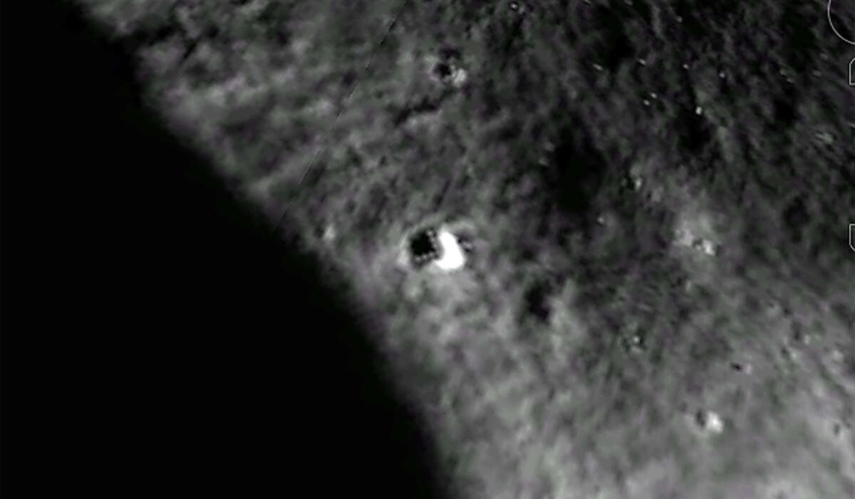 The object can be found on the Google Moon viewer at coordinates 22° 42'38.46N and 142° 34'44.52E.