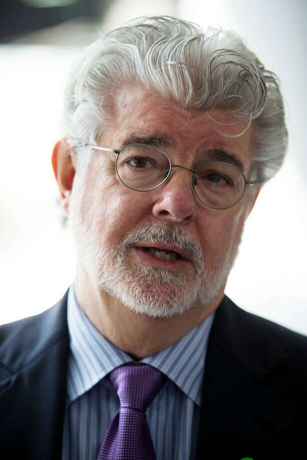 "Billionaire George Lucas, filmmaker and founder of Lucasfilm Ltd., speaks during the opening ceremony of the company's Sandcrawler building, home to Lucasfilm's Singapore unit, in Singapore, on Thursday, Jan. 16, 2014. Lucasfilm Singapore, which is working on movies including ""Transformers 4"" and ""Avengers 2,"" is expanding as it increases its workforce in the city-state, the only location outside the U.S. where the San Francisco-based company has a regional headquarters, it said. Photographer: Nicky Loh/Bloomberg *** Local Caption *** George Lucas Photo: Nicky Loh, Bloomberg"