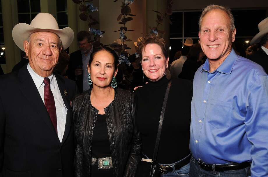 From left: Rigo and Sally Flores with Mary and Jim Towsen Photo: Dave Rossman, For The Houston Chronicle