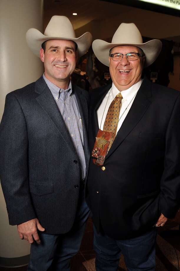 Sean Lebane and Connard Barker Photo: Dave Rossman, For The Houston Chronicle
