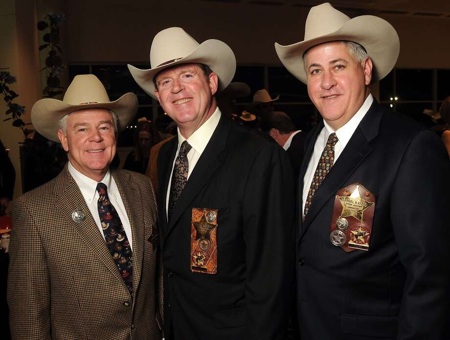 From left: Griffin D. Winn, Stephen Estes and Sam Ayers Photo: Dave Rossman, For The Houston Chronicle