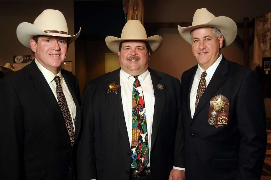 From left; Stephen Estes, Mike Wells Jr, and Sam Ayers Photo: Dave Rossman, For The Houston Chronicle