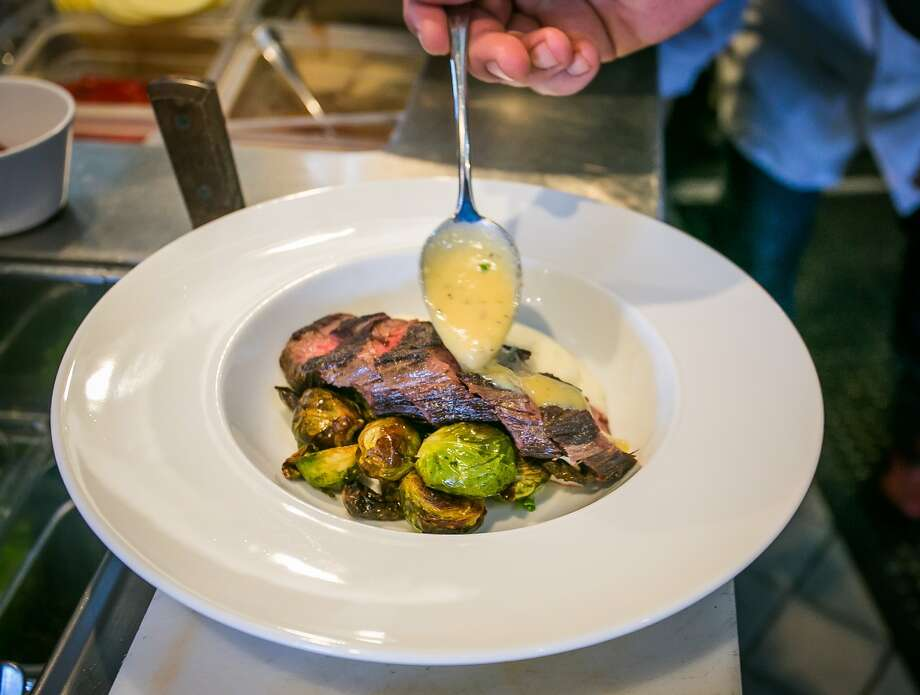 The American Kobe Bistro Steak at Mangia Mi in Pleasanton, Calif., is seen on January 16th, 2014. Photo: John Storey, Special To The Chronicle