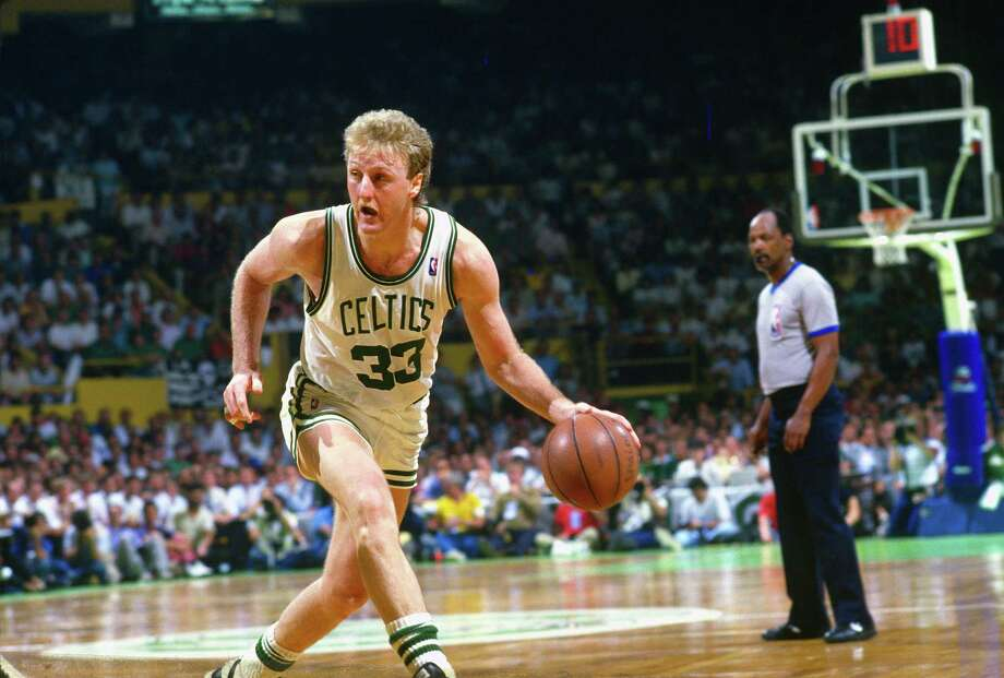 "Larry BirdOften considered one of the best trash-talkers of all time, the Boston Celtics legend always was able to back up what he said. One anecdote: While playing against former Sonics star Shawn Kemp, Bird shot a three-pointer over Kemp's head, made the basket and declared, ""I'm the best damn player from Indiana."" Photo: Focus On Sport, Getty Images / 1987 Focus on Sport"