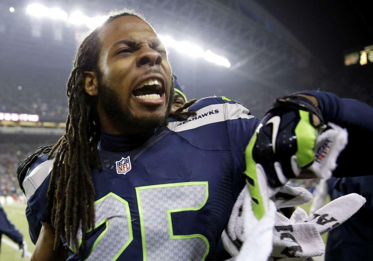 Richard Sherman and the loudest athletes in sports Seattle Seahawks cornerback Richard Sherman stole his team's thunder Sunday when he went on a rant after winning the NFC championship, drawing incredible response from the football-watching public around the U.S. and the world. Now that he's becoming a household name -- for better or worse -- does he rank among the biggest loudmouths in sports history?