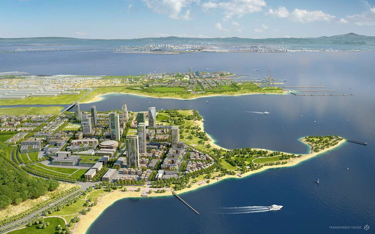 Rendering of Lennar Corp.'s planned 10-year, multi-billion dollar Candlestick Point development. The mixed-use retail, housing and entertainment development will replace aging Candlestick Park, which is now scheduled to be demolished early next year.
