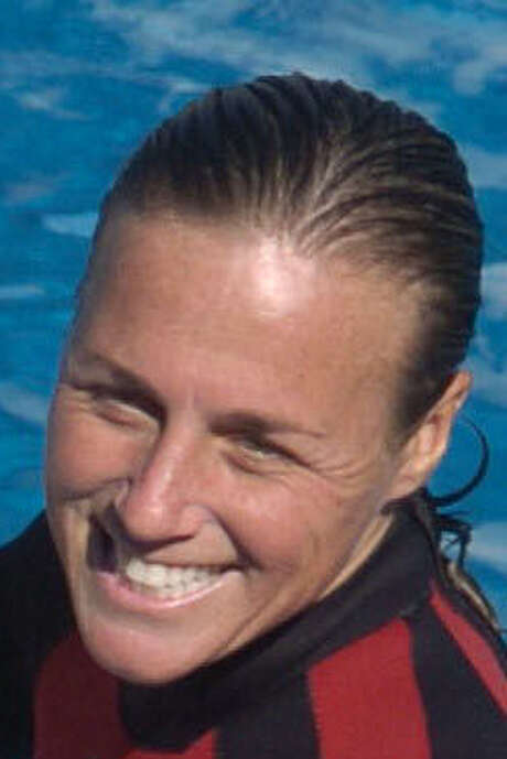Trainer Dawn Brancheau was killed by a whale in 2010. / AP2005