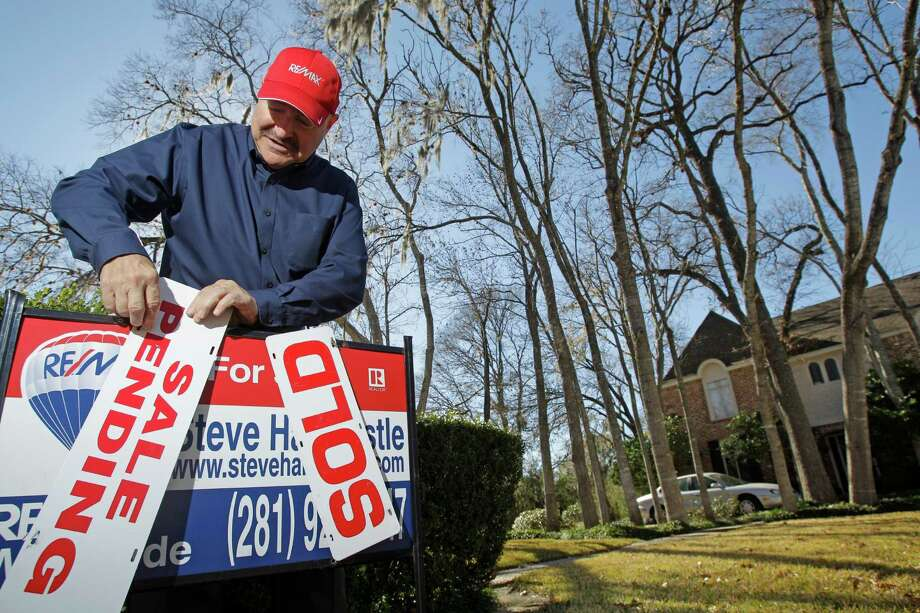 Steve Hardcastle, a broker associate with Re/Max Westside Realtors, says he has never seen the housing market so tight. Photo: Melissa Phillip, Staff / © 2014  Houston Chronicle