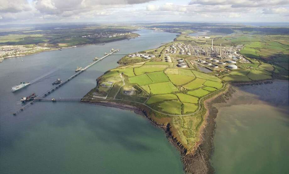 S.A.-based Valero Energy Corp. is one company that has said it is watching U.S.-European trade talks for possible reductions and trade and investment restrictions that could affect energy companies. Shown is Valero's refinery in Wales. Photo: Valero Energy Corp.