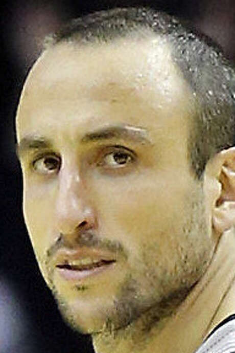 Manu Ginobili says the Spurs are not close to playing their best and scoffs at the notion of a 64-win season. / © 2013 San Antonio Express-News