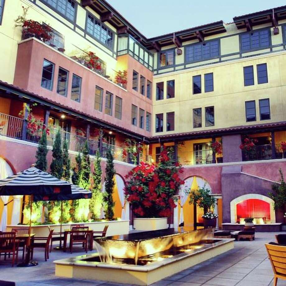 San Jose has just as many hotels as San Francisco on Conde Nast Traveler readers' Gold List: one. Hotel Valencia Santana Row (pictured) made the list of  top 200 U.S. hotels, along with the St. Regis, San Francisco. Photo: Www.facebook.com/HotelValenciaSantanaRow