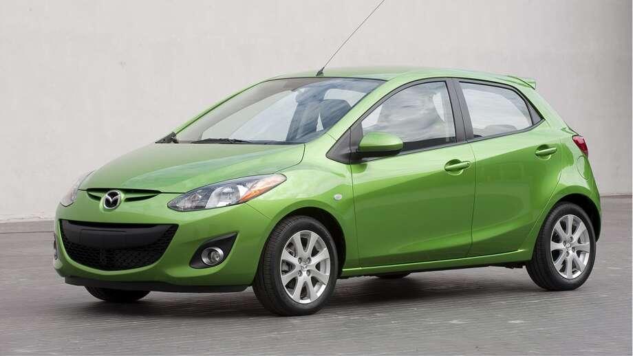 Mazda Mazda2Starting at $14,720 Photo: Guy Spangenberg/Spangenberg Phot