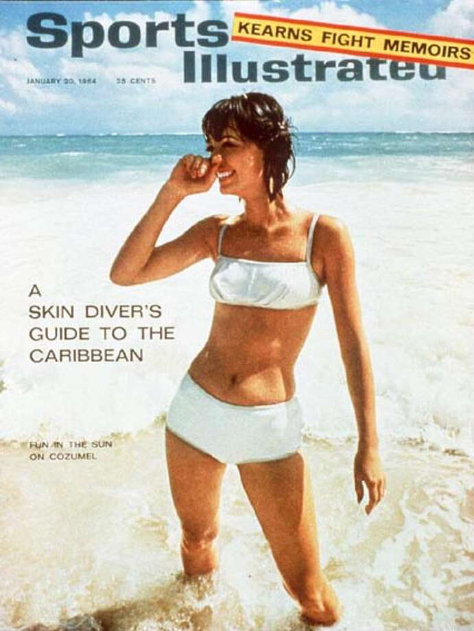 Babette March graced the cover of Sports Illustrated's first Swimsuit Issue in 1964. Take a look back at some of the covers and models from the 50 year history of the issue. Photo: J. Frederick Smith, Sports Illustrated/Frederick Smith