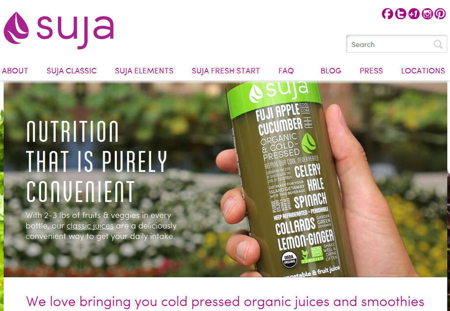 SujaThey produce organic juice for retail sales, much of which comes from Whole Foods. It is one of the country's fastest-growing beverage companies.Headquarters: San DiegoWebsiteSource: Forbes