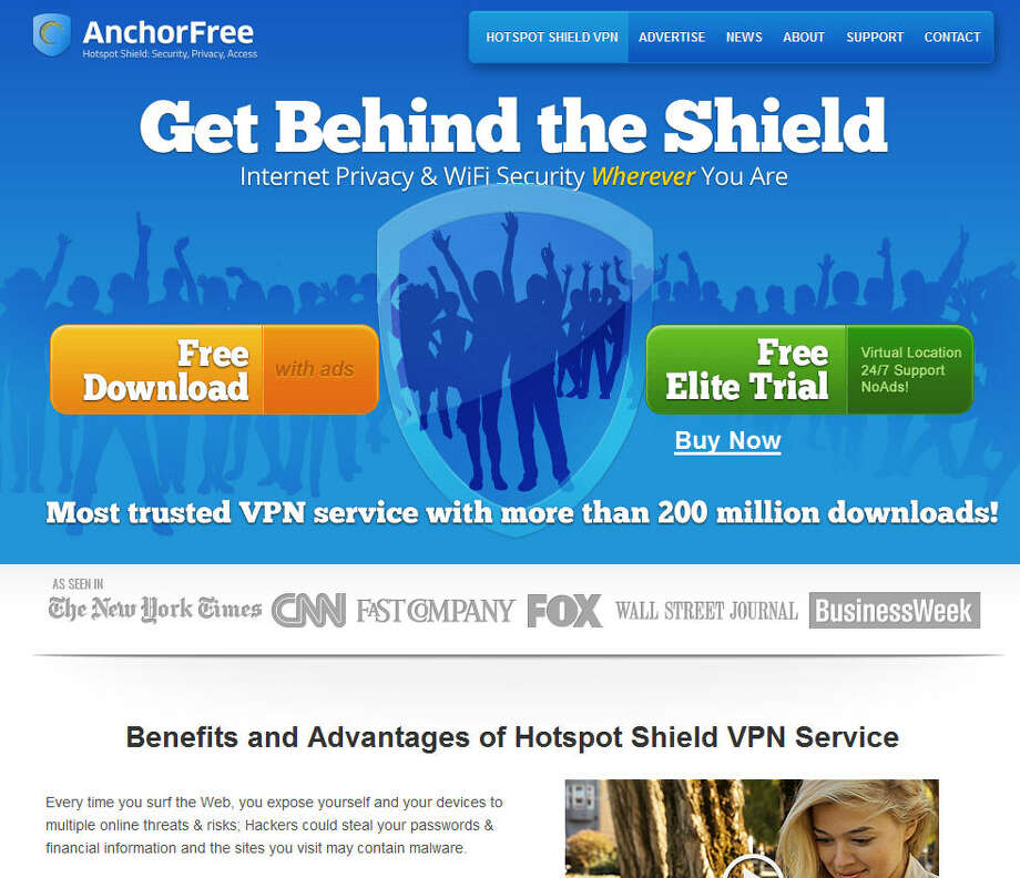AnchorFreeThe company operates an online private network that prevents hackers from accessing Web-surfing data.Headquarters: Mountain View, Calif.WebsiteSource: Forbes