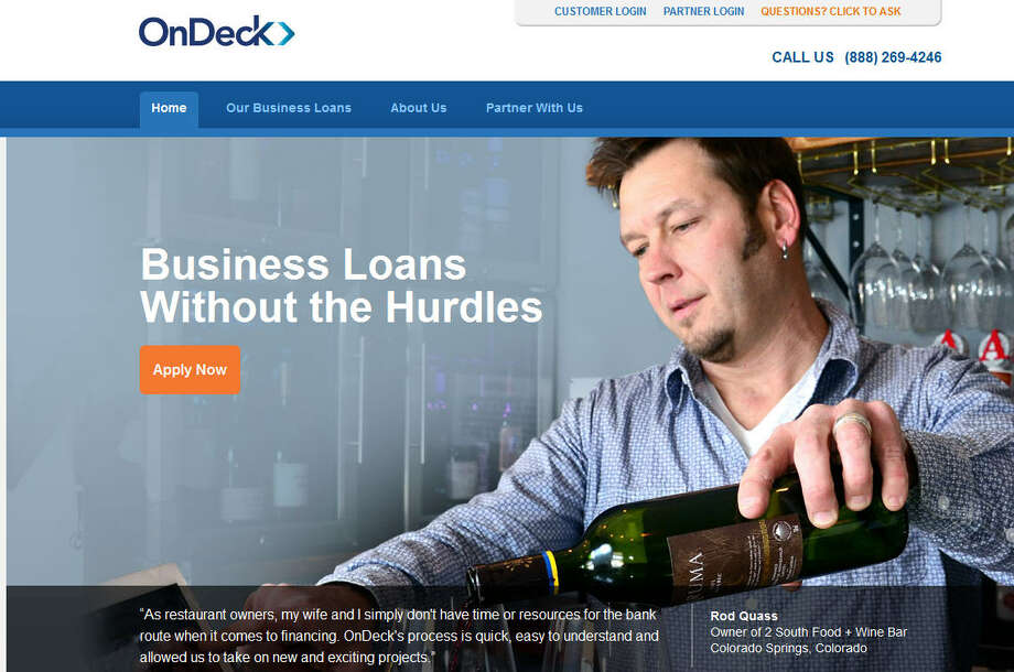 OnDeckThey underwrite and distribute loans to small businesses.Headquarters: New York CityWebsiteSource: Forbes