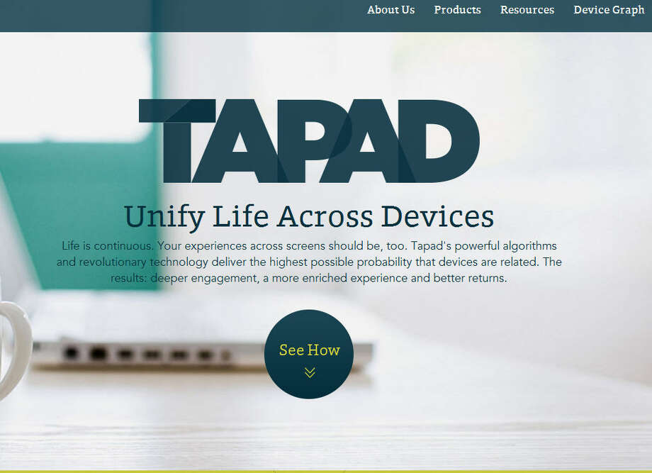 TapadThey track and target consumers for online advertisers.Headquarters: New York CityWebsiteSource: Forbes