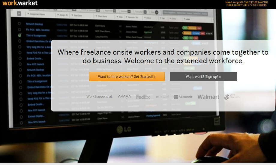 "WorkMarketIt calls itself the ""extended workforce"" and connects freelancers with other freelance workers. Companies like Microsoft use it to find contract employees.Headquarters: Huntington, N.Y.WebsiteSource: Forbes"