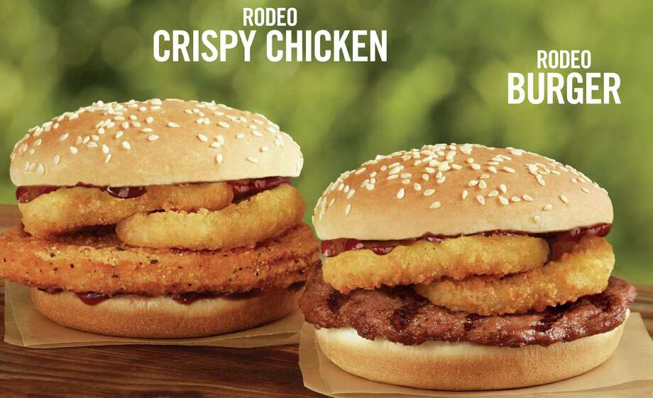 Rodeo Burger and Rodeo Crispy Chicken from Burger King Photo: --