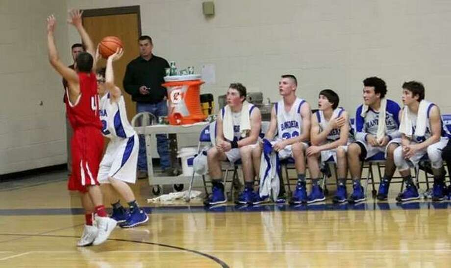 Bandera High School Senior is the focus of a social media campaign to get a basketball shot on ESPN. Photo: Twitter