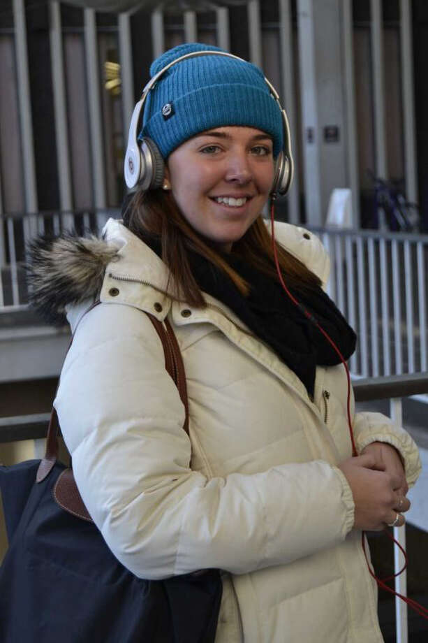 Were you Seen in the freezing cold during the first day of classes at the University at Albany on Wednesday, Jan. 22, 2014? Photo: Natasha Scully