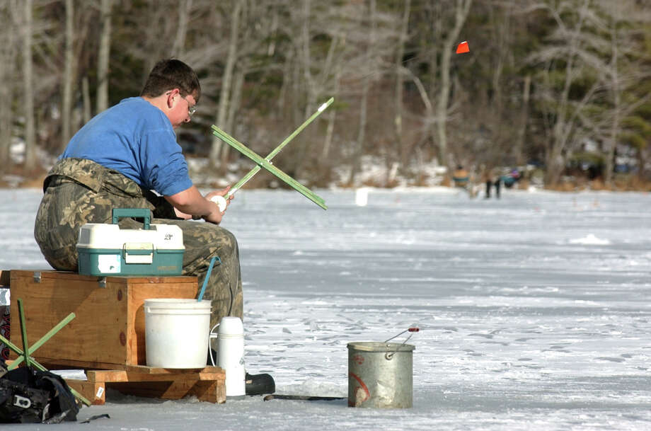 1. Go fish. There are two winter festivals coming up where you can experience the joys of the frozen pond. The first is at Grafton Lakes State Park.Winter Festival and Ice Fishing ContestWhere: Grafton Lakes State Park, 61 N. Long Pond Road, CropseyvilleWhen: 10 a.m. to 4 p.m. Saturday, Jan. 25; contestregistration from 5:30 a.m. to 11 a.m.Admission: Free for festival; $10 fee, with state fishing license, for contestInfo: www.nysparks.com/events; 279-1155  Photo: JONATHAN FICKIES / ALBANY TIMES UNION
