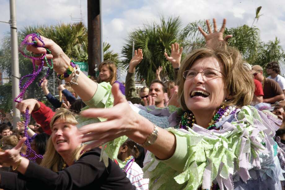 Mardi Gras in Kingwood:Town Center Park in Kingwood will be the place to be this weekend as its hosts a Mardi Gras Festival and Parade. Festivities will include live zydeco music, an arts and crafts market and plenty of food and beverage. Saturday, March 1 from noon-6 p.m.; 8 N. Main, Kingwood; towncenterevents.com Photo: Philip Gould / Philip Gould