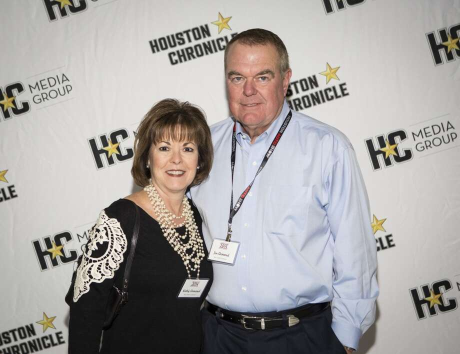 Kathy and Jim Grimsrud attend the Houston Auto Show's 30th Anniversary Preview Party Tuesday, Jan. 21, 2014, in Houston. ( Nick de la Torre