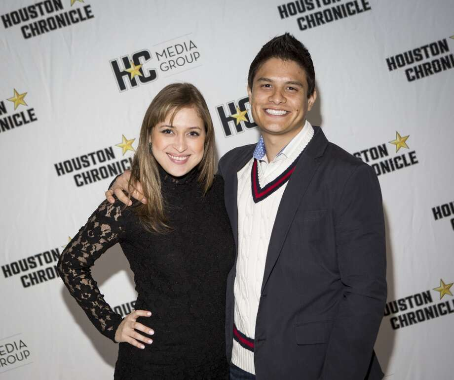 Melissa and Jairo Lopez attend the Houston Auto Show's 30th Anniversary Preview Party Tuesday, Jan. 21, 2014, in Houston. ( Nick de la Torre