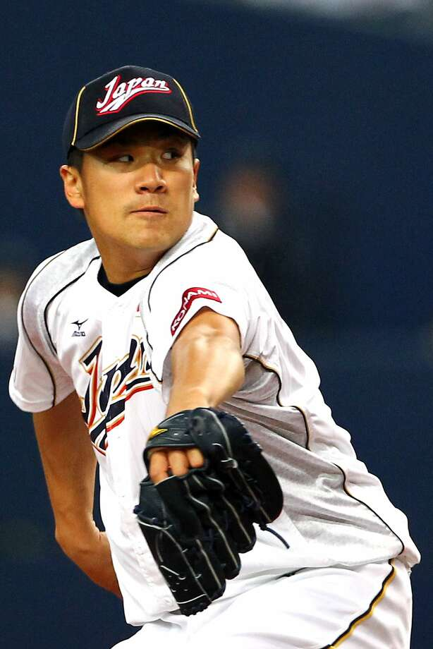 Masahiro Tanaka was 24-0 with a 1.27 ERA last year for the Rakuten Golden Eagles. Photo: Koji Watanabe, Getty Images