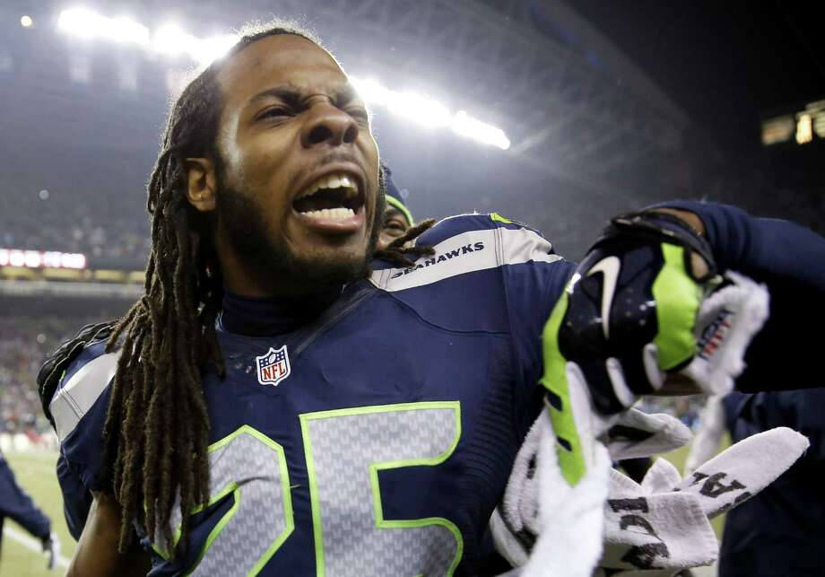 Richard Sherman and the loudest people in sportsSeattle Seahawks cornerback Richard Sherman stole his team's thunder Sunday when he went on a rant against the 49ers Michael Crabtree after the NFC championship game, drawing incredible response, mostly negative, from the football-watching public around the U.S. and the world. He's becoming a household name, but he isn't the only loudmouth in sports history. Check out some of the others, concluding with the all-time champion.  Photo: Otto Greule Jr, Getty Images / 2014 Getty Images