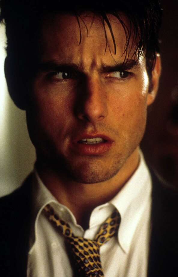 """That's more than a dress. That's an Audrey Hepburn movie.""— Jerry Maguire in ""Jerry Maguire."" PHOTO: Tom Cruise in a scene from the film ""Jerry Maguire,"" 1996. Photo: Columbia TriStar, TriStar/Getty Images / 2012 Getty Images"