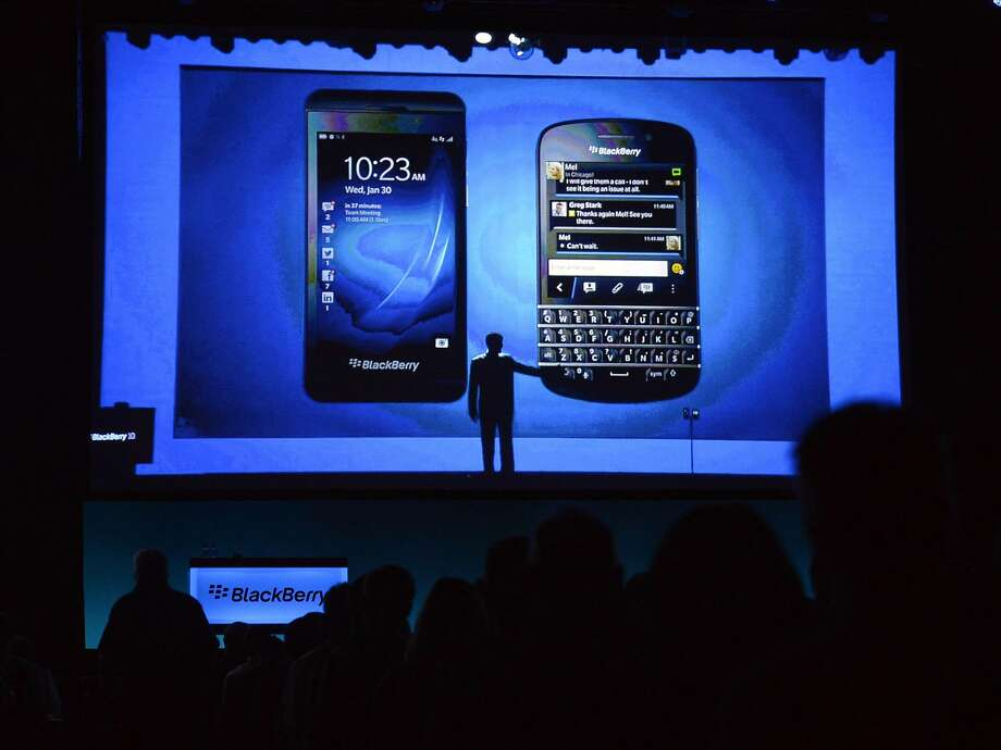BlackBerry is notching gains, partly on the Pentagon's decision to support the company's smartphones. Photo: Nathan Denette, Associated Press