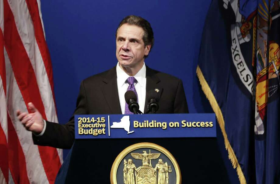 New York Gov. Andrew Cuomo says conservatives have no place in New York, only liberals and Republican moderates of his choosing. Where's the outcry? Photo: Mike Groll / Associated Press / AP