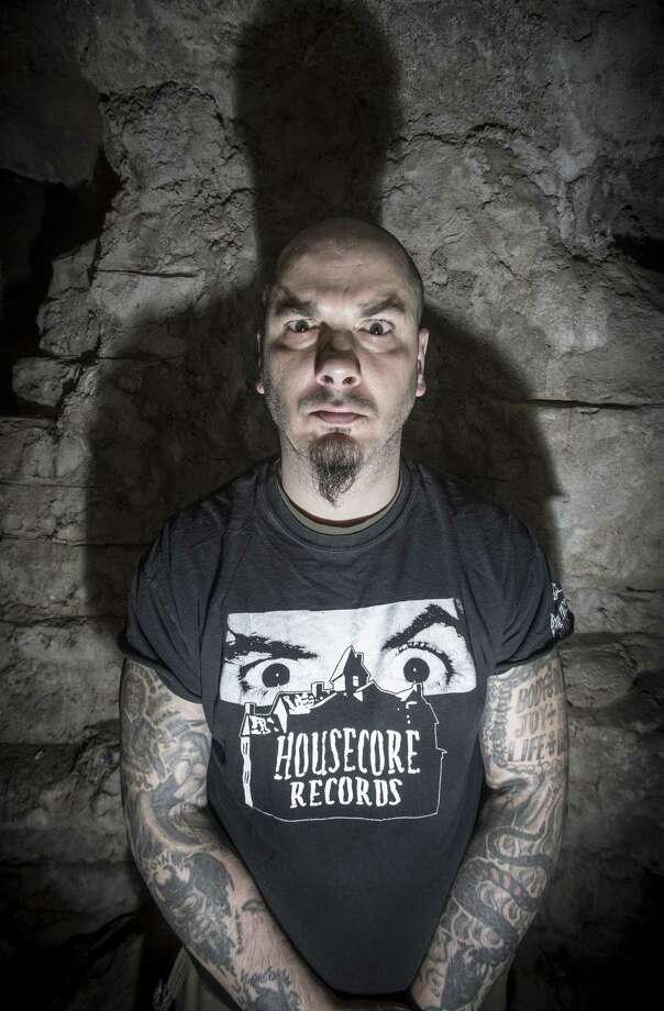 "Philip H. Anselmo is touring with his latest project, The Illegals, for the ""Walk Through Exits Only"" release. Anselmo & The Illegals will be at Backstage Live on Monday. Photo: Courtesy Jimmy Hubbard"