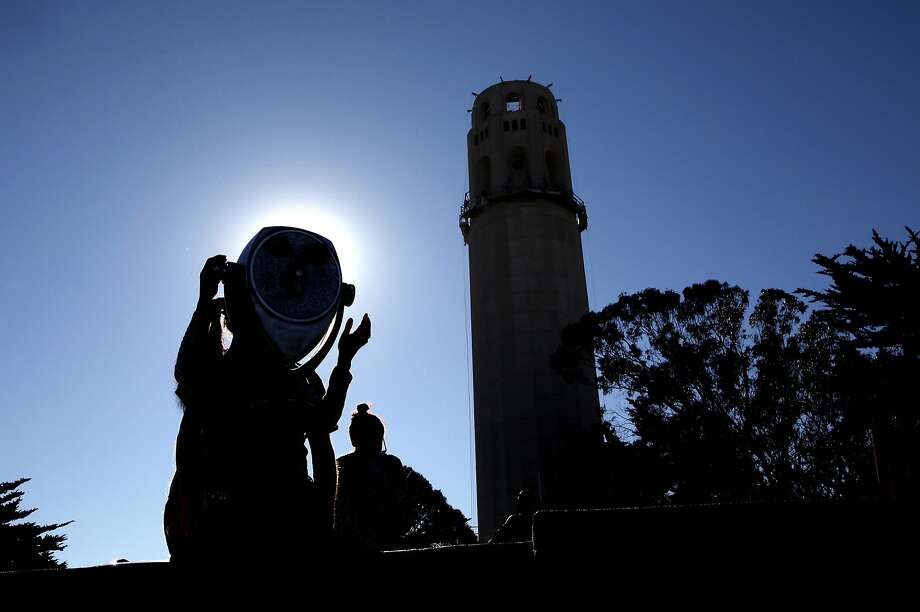 The city is planning to reopen Coit Tower in April with a new concessionaire after six months of restoration. Photo: Sarah Rice, Special To The Chronicle