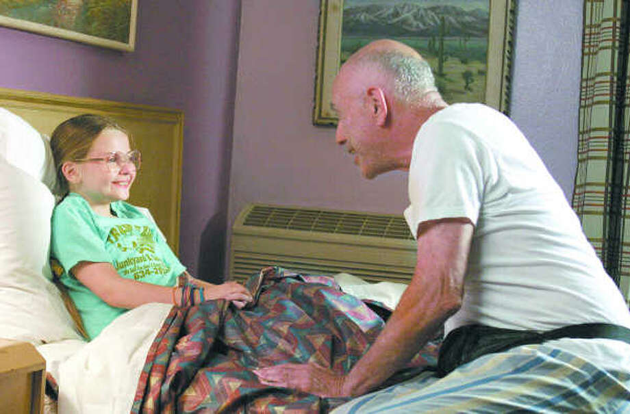 """I'm madly in love with you and it's not because of your brains or your personality. It's because you're beautiful, inside and out.""— Grandpa to Olive in ""Little Miss Sunshine.""PHOTO: 