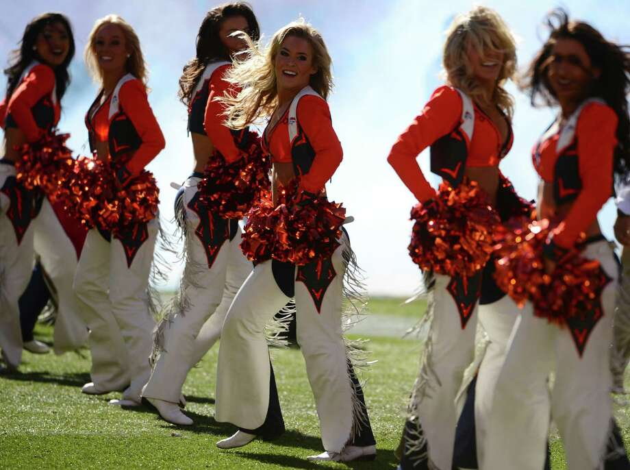 Denver Broncos Cheerleaders perform Jan. 19, 2014. Photo: Helen Richardson, Getty Images / copyright - 2014 The Denver Post, MediaNews Group.
