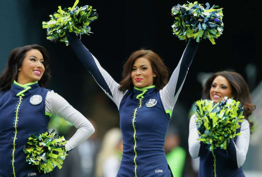 Seattle Seahawks Sea Gals perform Dec. 29, 2013. Photo: Otto Greule Jr, Getty Images / 2013 Getty Images