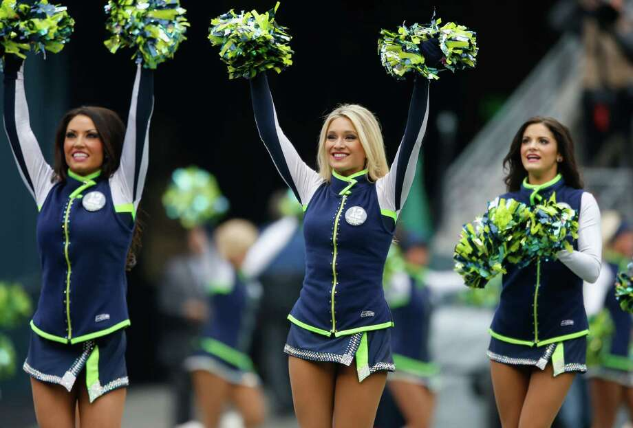 Members of the Seattle Seahawks Sea Gals perform Dec. 29, 2013. Photo: Otto Greule Jr, Getty Images / 2013 Getty Images