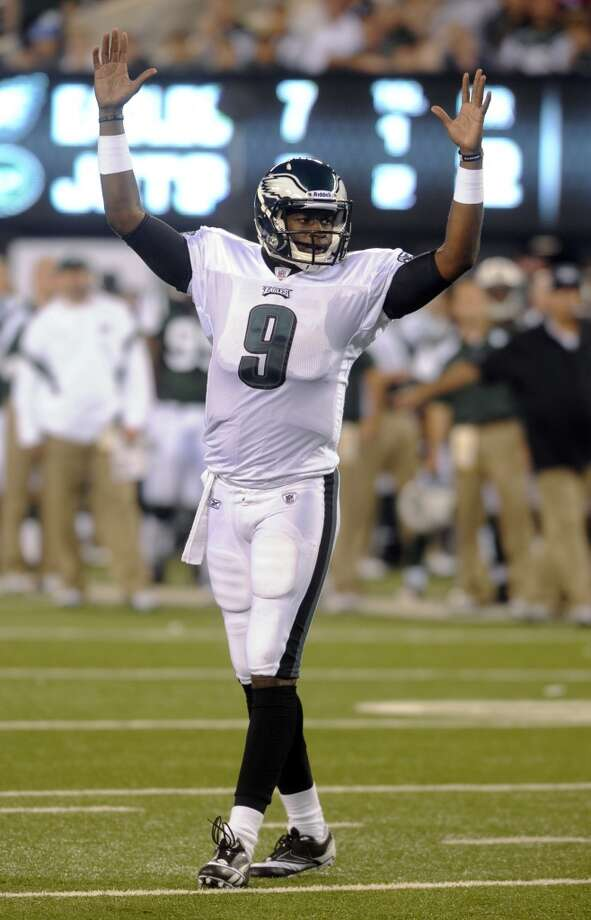 Vince Young with the Philadelphia Eagles. Photo: Henny Ray Abrams, Associated Press